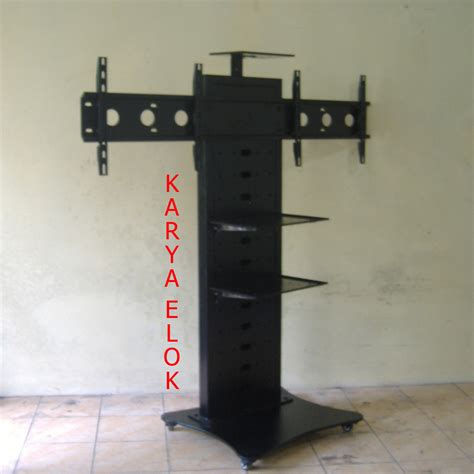 Rak Tv Bracket floor stand lcd plasma tv rak audio teleconference