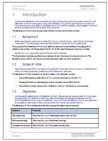 statement of work ms word amp excel template