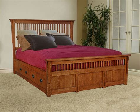 mission style bed mission design bed room furnishings that value to