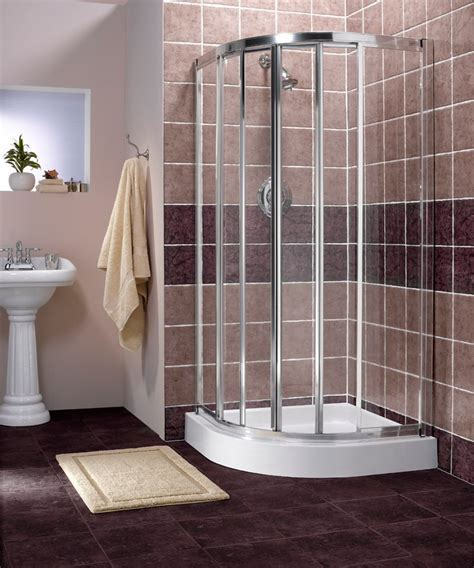 Corner Showers: The Space Saving Shower   Bath Decors