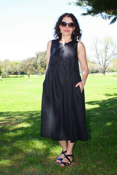 Dress Lysa new dress pattern sew tessuti