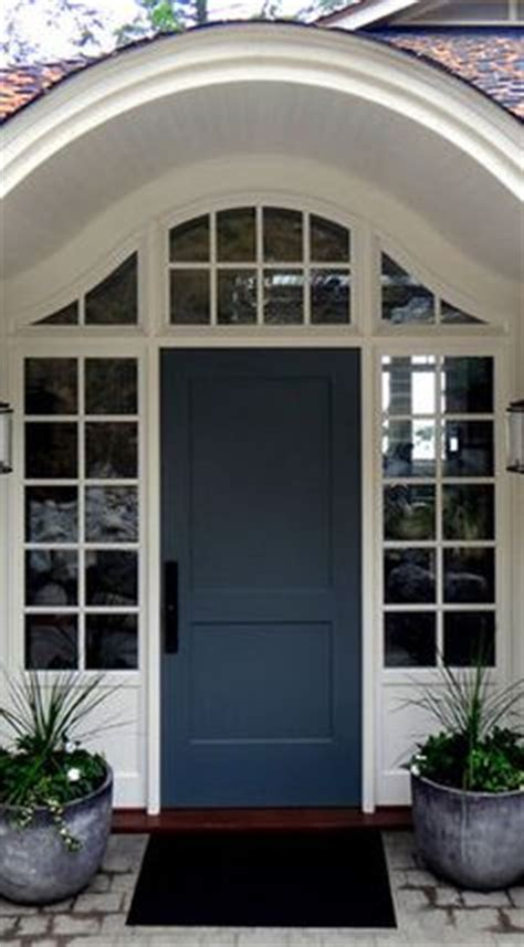 Blue Gray Front Door 1000 Images About Home Exteriors On White Trim Gray Siding And Mobile Home Skirting