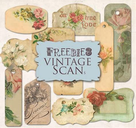 imagenes de flores vintage para imprimir etiquetas con rosas estilo vintage kabytes