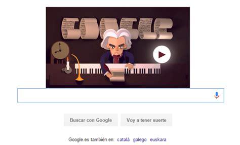 cancion doodle de hoy ayuda a beethoven a crear m 250 sica en doodle interactivo de