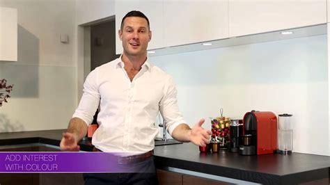Australian Kitchen Design nespresso u machine kitchen design tips with darren