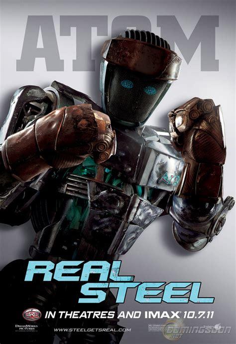 film robot ze stali giganci ze stali 2011 plakaty