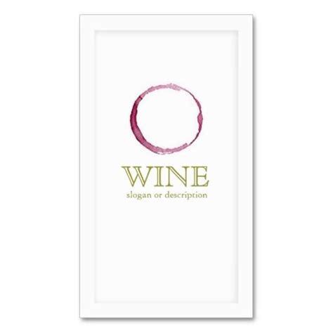 sommelier business card template 170 best images about wine business cards on