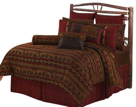 rustic bedroom comforter sets lodge comforter set full rustic comforters and