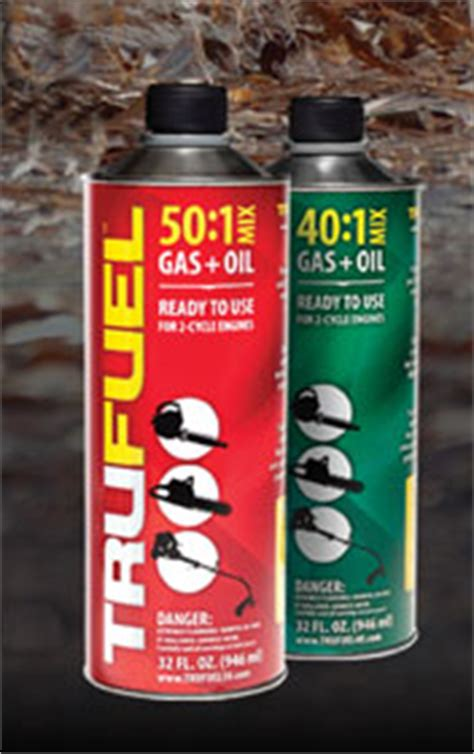 Trufuel Shelf by Trufuel Premix Now Available Power Equipment Trade