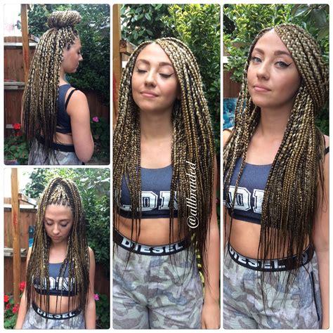 caucasian crochet braids box braids on caucasian hair hair pinterest box