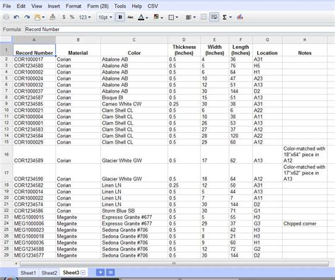 excel equipment inventory list template software 7 0