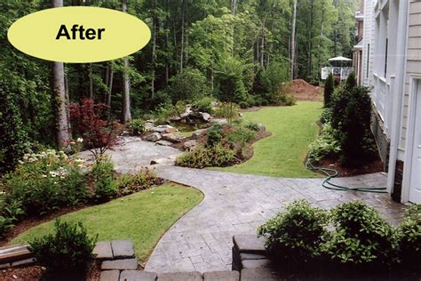 backyard hardscapes back yard hardscape idea yard landscaping ideas