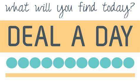 day deals deal a day slide up