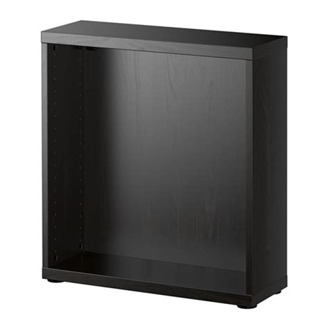 besta frame best 197 frame black brown ikea