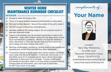home maintenance tips for winter images home maintenance safety postcards helpful home and