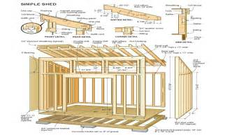 Shed Plans Diy Shed Plans How To Build A Shed