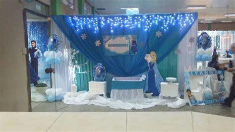 ideas para decorar un salon de frozen fiestas personalizadas ideas de decoraci 243 n de fiesta