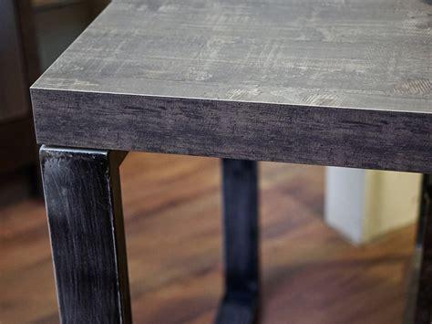 tavolo ferro tavolo industrial ferro e cemento scuro smile in offerta