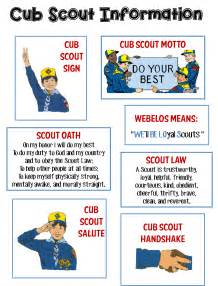 strong armor cub scouts scout oath and law helps and