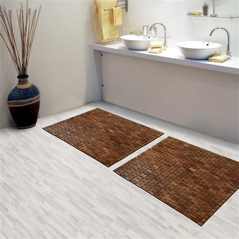 bathroom mat ideas popular teak bath mat derektime design ideas for build