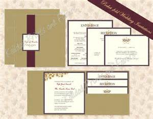 exclusive wedding invitations with pockets theruntime