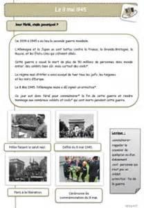 Resume 8 Mai 1945 by Le 8 Mai 1945 La Seconde Guerre Mondiale C2 Le Petit