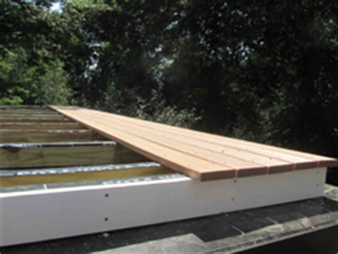 rebuilding  rotted deck   flat roof extreme