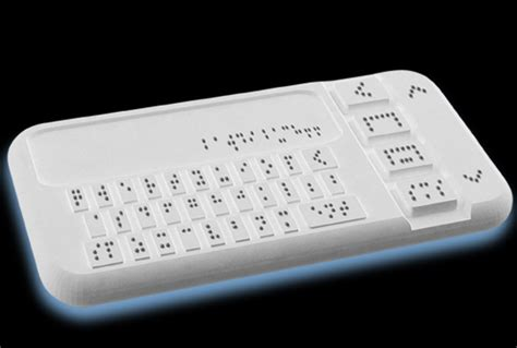 Blind Brail A Smartphone For The Blind Scholastic News Online
