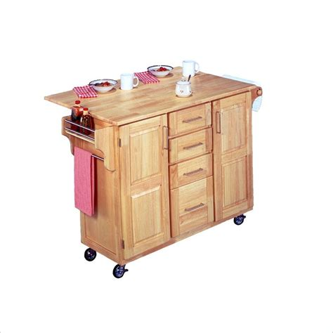 kitchen island cart with breakfast bar home styles furniture breakfast bar kitchen cart ebay