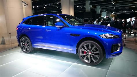 2017 jaguar f pace configurations jaguar f pace 2017 il montre les dents 224 francfort