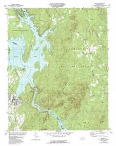 badin topographic map nc usgs topo 35080d1