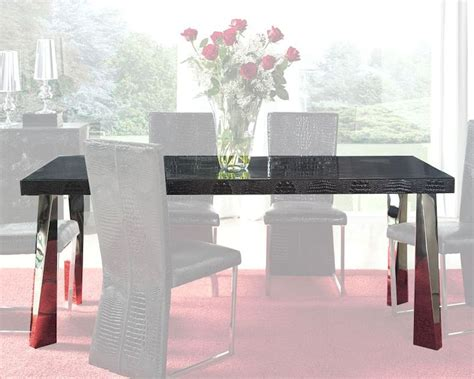 modern black glass dining table modern black glass top dining table european design