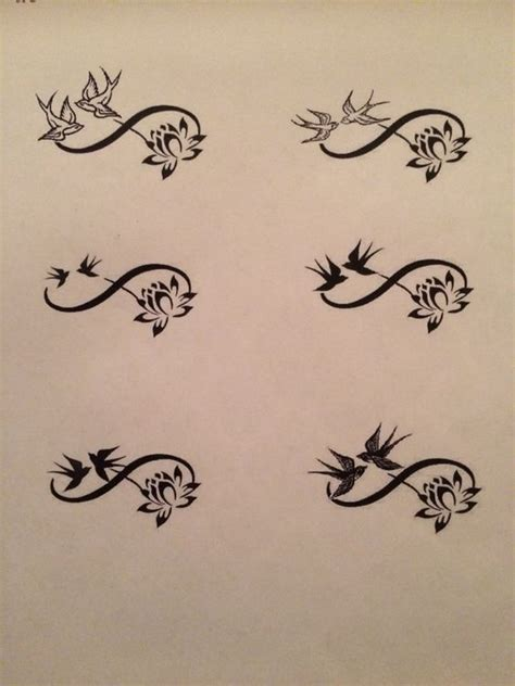 uses of infinity free infinity sign adorned with swallows and