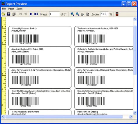 Docs Library Card Spine Template by School Library Software Print Library Labels