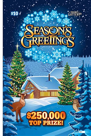Kaos Season Greetings 18 Tx 1 scratch tickets details