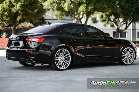 maserati ghibli modified maserati ghibli custom wheels koko kuture massa 7 22x9 0