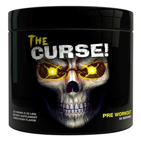 New Stock The Curse Lemon 50 Serving Pre Workout Cobra Labs 1 the curse pre workout cobra labs l eat me supplements
