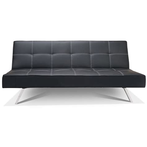 futon world berlin rialto faux leather futon sofa bed next day delivery