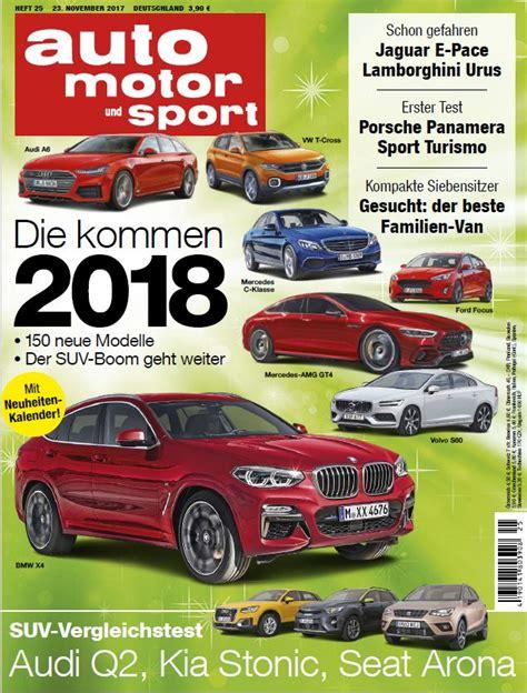 Abo Auto Motor Sport by Auto Motor Und Sport Abo Ch