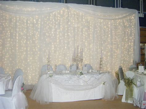 Wedding Curtain Lights Unique Wedding Ideas And