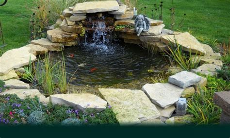 front yard ponds waterfall ideas for ponds small backyard fish pond ideas