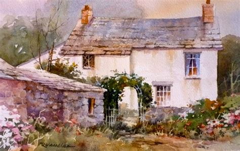 the cottage painting roland travel sketchbook painting cottages in