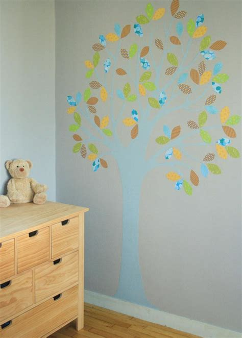 Charmant Papier Peint Chambre Bebe #5: arbre-mural.jpg