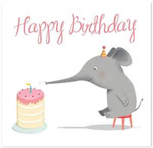 elephant birthday cards the world s catalog of ideas