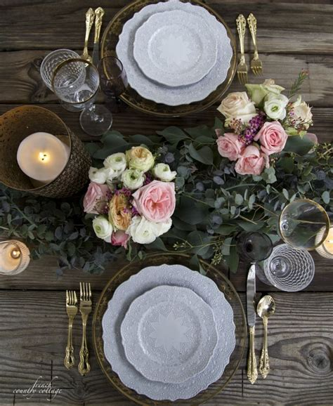romantic table settings 37 best images about table settings on pinterest head