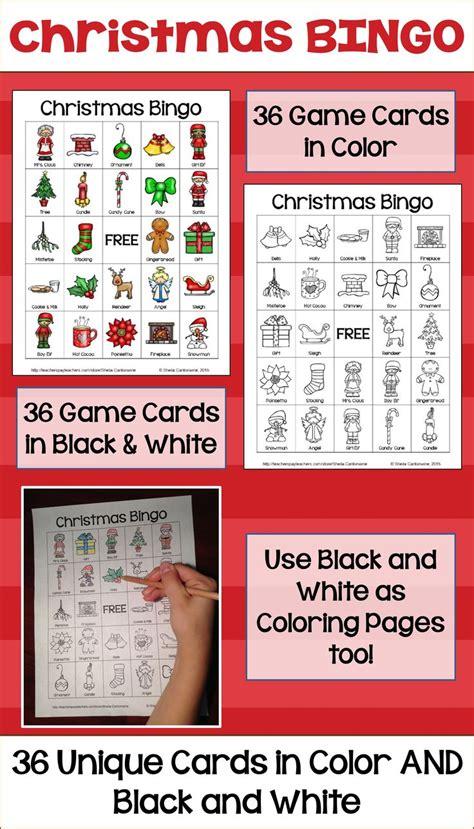 printable christmas bingo cards black and white 25 unique christmas bingo cards ideas on pinterest