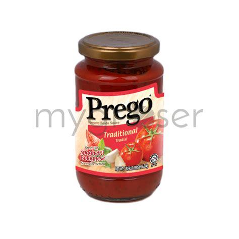 prego traditional pasta sauce  mygroser