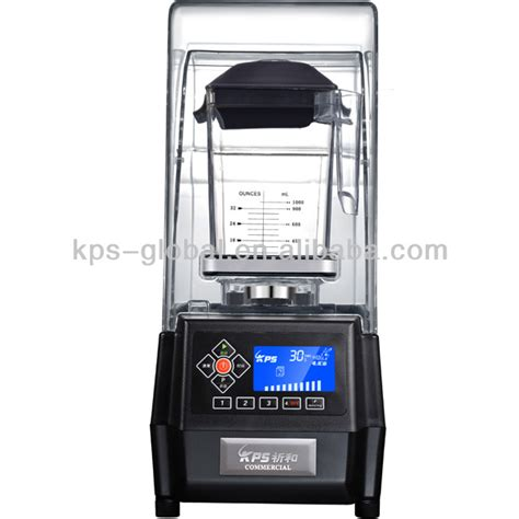 Pro Commercial Blender For Smoothies Getra Ks 10000 1500w sound cover lcd cafe commercial smoothie blender ce