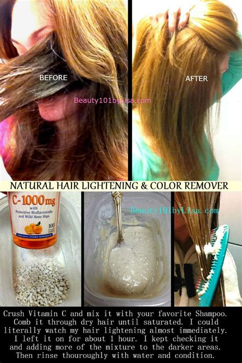 beauty101bylisa diy at home hair lightening
