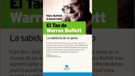 libro el tao de warren el tao de warren buffet audio libro youtube